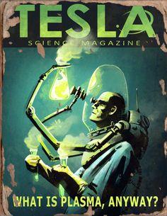 Tesla #2 Book - Fallout 4 by PlanK-69 on @DeviantArt