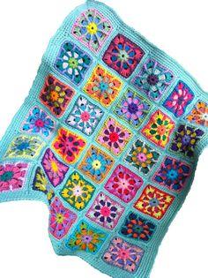 Crochet baby blanket crochet baby afghan granny by JansAfghans, $89.00