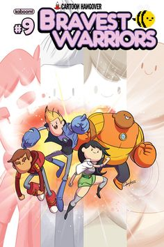 Hesse, Stober, Hummel And Allen Power Up Bravest Warriors #9 Covers [Preview] - ComicsAlliance | Comic book culture, news, humor, commentary, and reviews