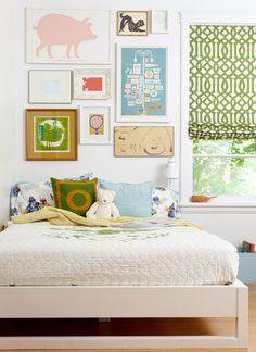 Kids Bedroom Gallery simple trundle bed (espresso) | shared rooms, brother sister and