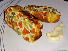 Reto Recetas Sanas: pastel de verduras