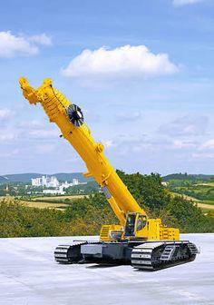 Liebherr LTR 1220 - Telescopic Crawler Crane