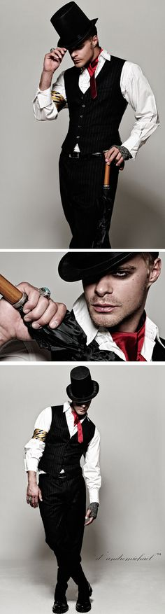 Men Outfit with Top Hat