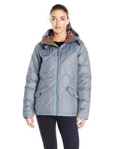 Oakley Women's Rattler Down Jacket, Medium, Blue Mirage