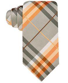 Geoffrey Beene Tie, Spring Pierre Plaid - Ties - Men - Macy's