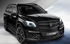 Mercedes Benz GL Class Black Crystal - by Larte design