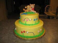Winnie the Pooh - Baby shower cake