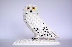Lego Snowy Owl #Lego #Snowy #Owl #blocks
