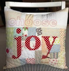 crazy mom quilts: choose joy.