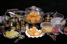 ドールハウス,ミニチュア,ABILITY OF DOLLHOUSE ... 1:12th scale miniature food display