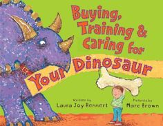 Carefully considering all his options while choosing a pet, a little boy decides to pick a dinosaur to call his own, but after selecting the perfect one, the real work begins when he attempts to train the giant beast to conform to domestic living. #picturebook