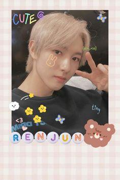 Anime Backgrounds Wallpapers, Cute Cartoon Wallpapers, Polaroid Pictures, Polaroids, Polaroid Decoration, Nct Group, Wallpaper Stickers, Huang Renjun, Kpop Fanart