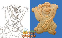 High School Reunion Ideas - Custom Cookies - Mascot Cookies - Edible Favors - Adorable Design #HighSchoolReunion