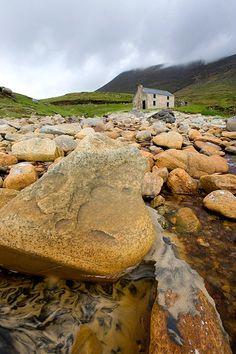 ...Rocky shore, County Mayo...