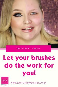 Let your brushes do what they are designed to do! This tutorial will help you use your Burst Make Up brushes to their full potential. Skin Makeup, Makeup Brushes, Bronzing Brush, Indian Makeup And Beauty Blog, Makeup Tips, Makeup Tutorials, Beauty Makeup, Makeup Mistakes, New Year New You