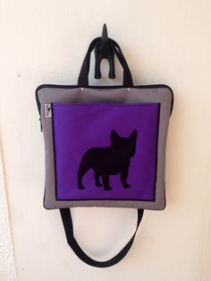 Hande made french bulldog bag made by ZsurigoWorks. You can order at her facebook page.