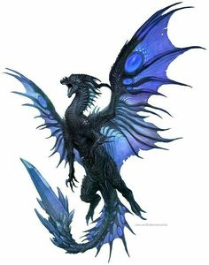 ideas for tattoo dragon medieval other Mythical Creatures Art, Mythological Creatures, Magical Creatures, Dragon Medieval, Dragon Bleu, Black Dragon, Dragon Artwork, Cool Dragon Drawings, Dragon Sketch
