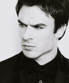 Ian Somerhalder. This is a perfect Christian Grey look!