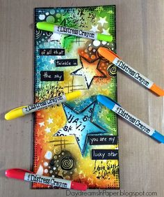 Daydreams In Paper: Simon Says Stamp Monday Challenge - Use Some Lucky Stars