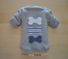 Dog Sweater/Shirt with free patterns to download