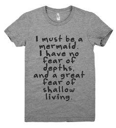 i must be a mermaid tshirt – Shirtoopia
