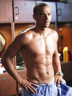 Doctor, doctor, give me the news: I've got a bad case of loving you! (Jesse Williams)