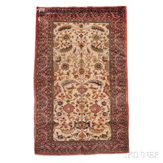 Sultanabad Carpet, West Persia, early 20th century,  10 ft. 2 in. x 6 ft. 8 in.    Skinner Auctioneers Sale 2752B