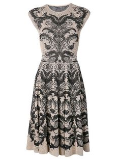 Alexander McQueen - this one would have to be fit just right to be sure that pattern didn't overwhelm my height, but I like it.