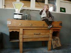 billot de boucher meuble de métier ancien #vintage #déco #design #interior #home