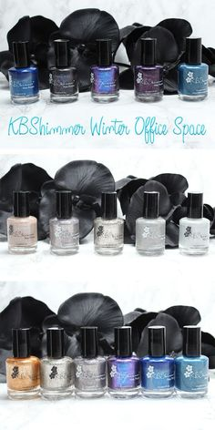 KBShimmer Winter Office Space Collections - Courtney shows you her favorite unique nail polish from the KBShimmer Winter 2016 and Office Space 2017 collections.
