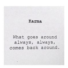 #Karma #quote