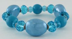Maritime Stretch Bracelet (Blue)~ CYBER MONDAY SALE just $11.90! ENDS at 10PM TONIGHT! www.azuliskye.com/shalburnt