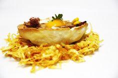 El huevo 2014, nuestro pincho para el Campeonato de Pinchos de Asturias 2014. Restaurante Vinoteo Oviedo. c/ Campoamor, 29, Oviedo. T 984 08 16 96 #Asturias #Gastronomía #Calidad #ComidaCasera #Menu #HoraDeCenar #HoraDeComer #Comida #Comer #OviedoEstaDeModa #Foodie #FoodieLovers #Menú #GastroLovers #Fame #Vino #Vinos #IrDeVinos #Gastronomia #FoodPorn #Yummy