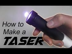 Every homesteader should learn how to make a homemade stun gun and properly use it for self-defense. Good thing we have this easy and straightforward tutorial on how to make a homemade stun gun wit… Self Defense Tips, Self Defense Weapons, Survival Weapons, Home Defense, Survival Tools, Survival Knife, Survival Prepping, Survival Hacks, Disaster Preparedness