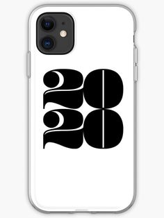 2020 Year | Typography | Square by Menega Sabidussi The year 2020 in large, rounded numerals with a strong presence.