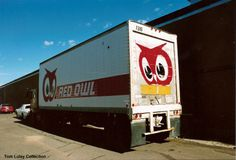 Red Owl truck - Red Owl pup trailer found at local Ice Co in Fargo ND Retail Signs, Red Owl, Twin Cities, Milwaukee, Pup, Weird, Truck, Memories, Products