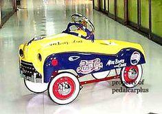 Vintage Pepsi Pedal Car