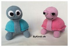Silly Turtles crochet pattern by CraftingByKirsti on Etsy