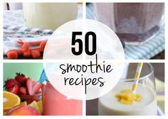 Top 50 smoothie recipes