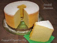 Ciambella Americana (Chiffon Cake)