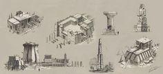 ArtStation - Egypt concepts, Lucas Helmintoller