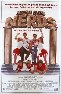 "Revenge of the Nerds (1984) Vintage One Sheet Movie Poster - 27""x 41"""