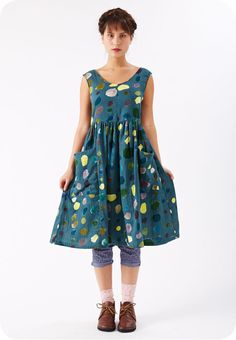 Maggie dress by Rebe using nani Iro. Love the shape of this dress. i'd wear this style every day. :-)
