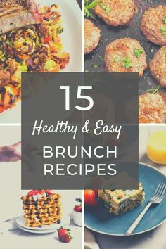 15 Healthy Brunch Recipes | Gluten Free Recipes | Sugar Free Recipes | Healthy Breakfast Recipes