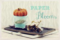 Tissue Paper Blooms