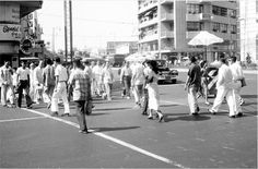 Philippines, pedestrian traffic on streets of Manila Tropical Beaches, Old City, Photo Archive, Manila, Southeast Asia, Old Photos, Philippines, The Good Place, Street View