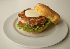 Hamburger de peixe
