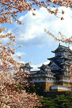 Himeji Castle Japan iPhone Wallpaper