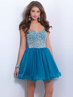 2014 Style A-line Sweetheart Rhinestone Homecoming Dresses/Cocktail Dresses #GM487  http://www.beckydress.com/2014-style-a-line-sweetheart-rhinestone-homecoming-dresses-cocktail-dresses-gm487.html
