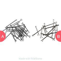 Do you call them hair grips ???? or bobi pins ???? ? Click here to vote @ http://getwishboneapp.com/share/15624569